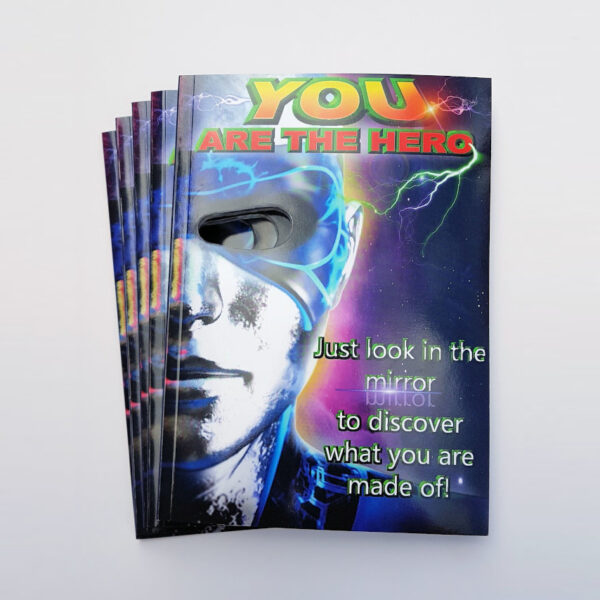 You are the hero mask books